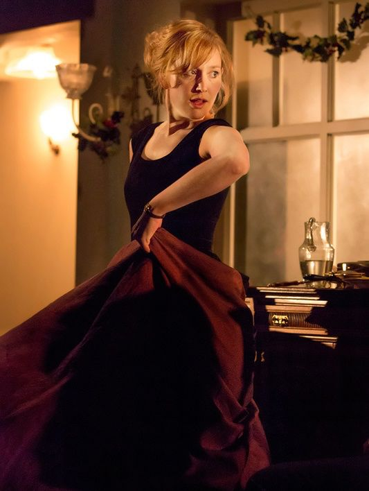 Hattie Morahan as Nora in Ibsen's A Doll's House 2012