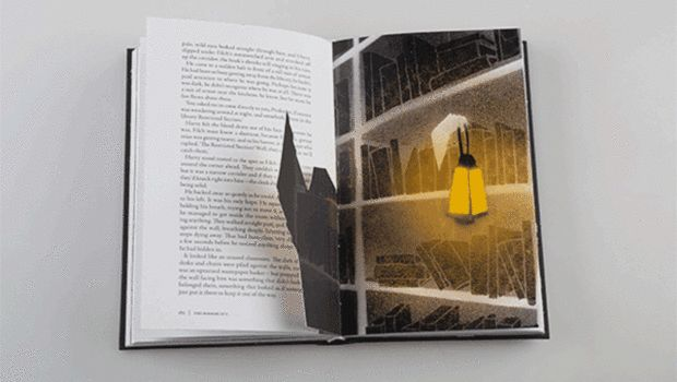 Harry Potter Series Reimagined As Glow-In-The-Dark Pop-Up Books