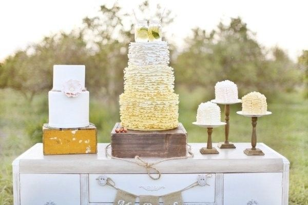 Pastel Wedding Reception Decor Wedding Reception Photos on WeddingWire