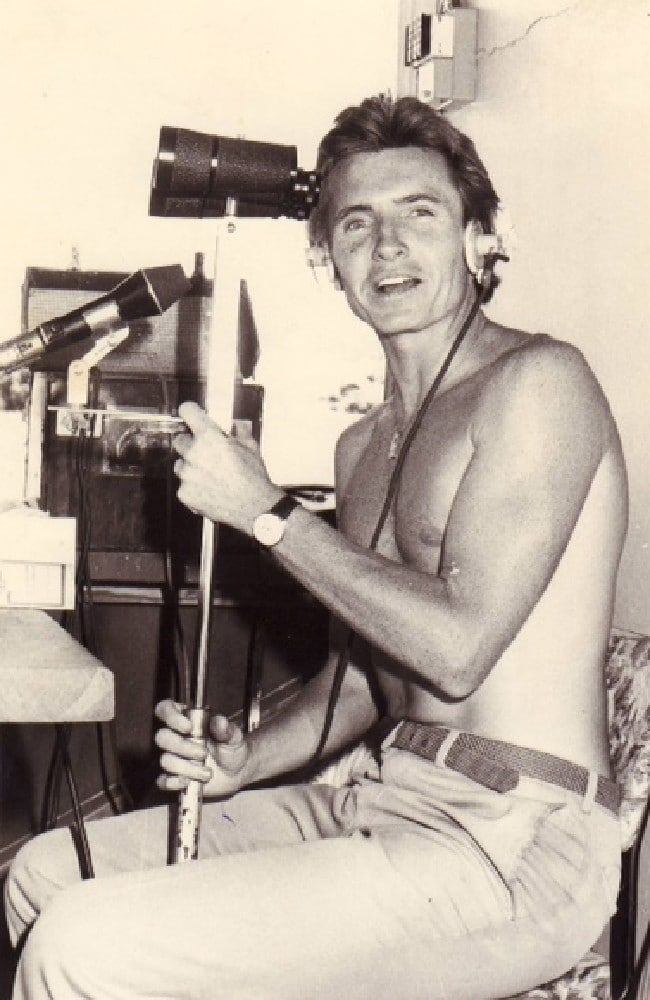 Bruce McAvaney calling the 1978 Port Lincoln Cup for Radio 5DN in Adelaide.