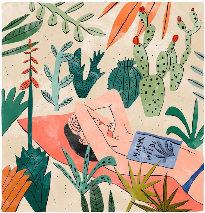 Illustration Bodil Jane Illustrates Botanical Rooms I Want to Live In