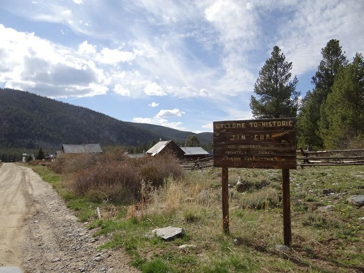 Tin Cup Colorado Ghost Town The End A Drive To Taylor