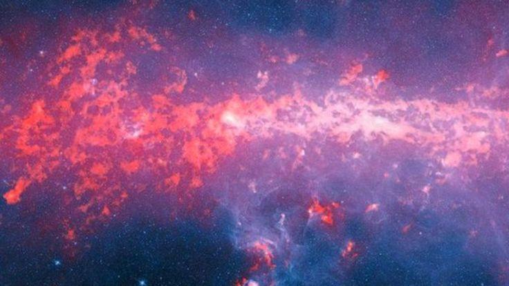 'Retrato' da galáxia à qual pertence a Terra inclui nuvens de gases responsáveis pela formação de estrelas e é quatro vezes maior que mapeamento anteriores.