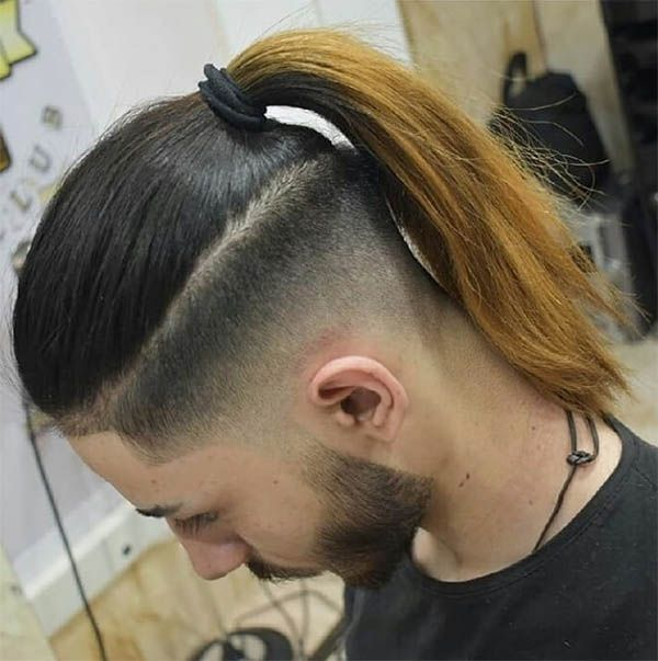 45 Super Cool Men S Samurai Hairstyles 2019 Best Trendy Haircuts Mens Ponytail Hairstyles Hair Wigs For Men Long Hair Styles Men