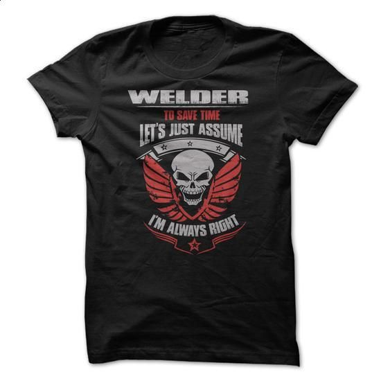 Awesome Welder Shirt - #clothes #men dress shirts. GET YOURS => https://www.sunfrog.com/Funny/Awesome-Welder-Shirt-v9sv.html?60505
