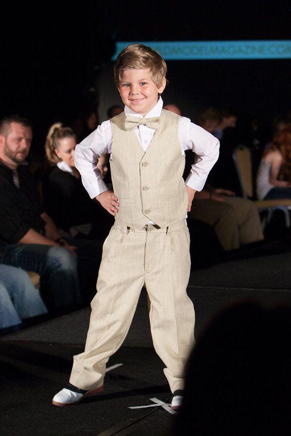 Boy Wearing A Wedding Dress
