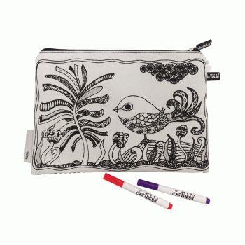 Pencil case colouring kits