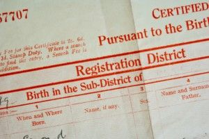 """STATES STRUGGLE TO MAKE BIRTH & DEATH CERTIFICATES SECURE. As identity theft becomes more widespread, state governments are focusing on the original paperwork that enables many of these crimes: Birth & death certificates. """"We improve the end Holy Grail documents, passports & drivers' licenses, while we're not improving standards for the source documents like birth certificates that are used to get them,"""" said Rick Outland of Gemalto, a company that makes digital security products."""