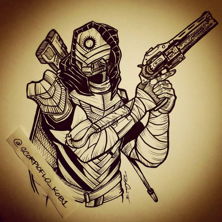 Osiris Hunter by KobOneArt on DeviantArt destiny