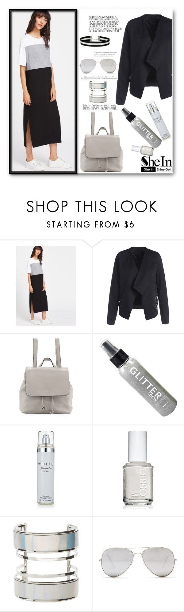 """""""Contest (shein)! - Win 30$ coupon!"""" by cassandria ❤ liked on Polyvore featuring Neiman Marcus, Kenneth Cole, Essie, Charlotte Russe, H&M, Sunny Rebel, Miss Selfridge, men's fashion and menswear"""
