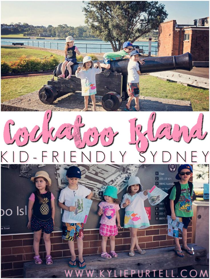 Cockatoo Island {Kid-Friendly Sydney   Places to See  Cockatoo Island is a great place to visit with kids. We take you on a little tour of what this beautiful island in Sydney Harbour has to offer and why it's one of the kid-friendliest places in Sydney.