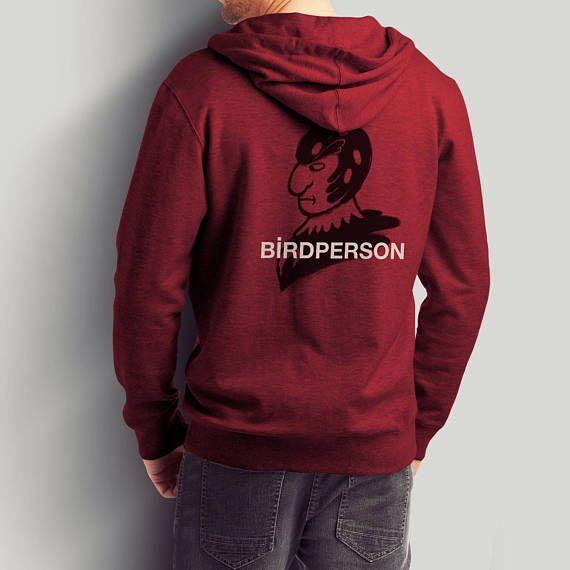 Birdperson / Rick and Morty Pullover / Birdman Mash-up /