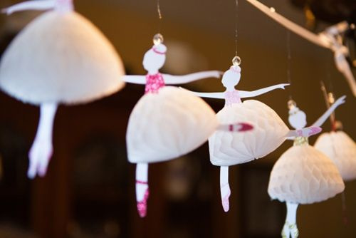 Ballerina decorations