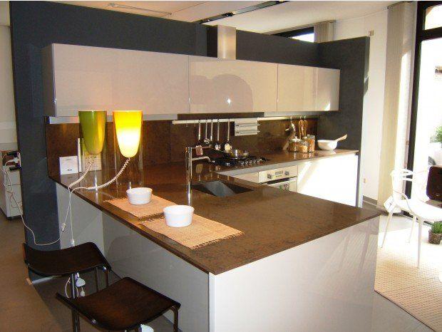 Cucina Con Penisola Binova Continua A Monza E Brianza Sconto 53 Cucine Cucine Moderne Arredamento