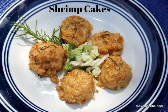HCG Diet Friendly Shrimp Cakes