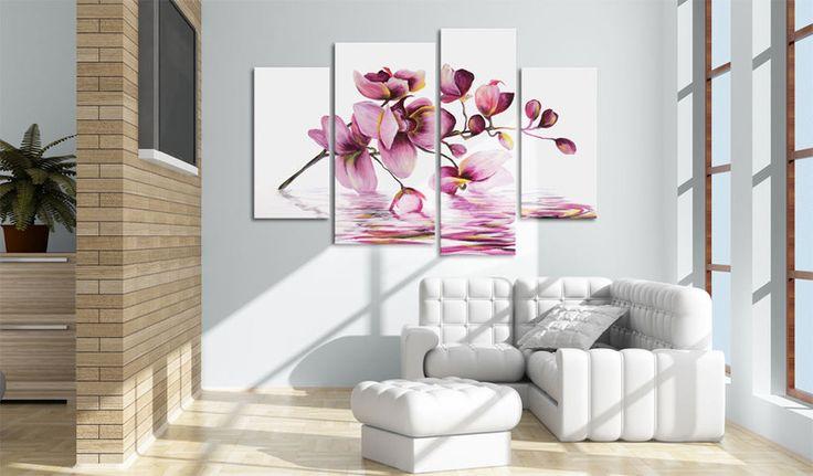 Obraz malowany 130x90 Kwiaty 22470 - artgeist - Obrazy akrylowe #flower #art #decor