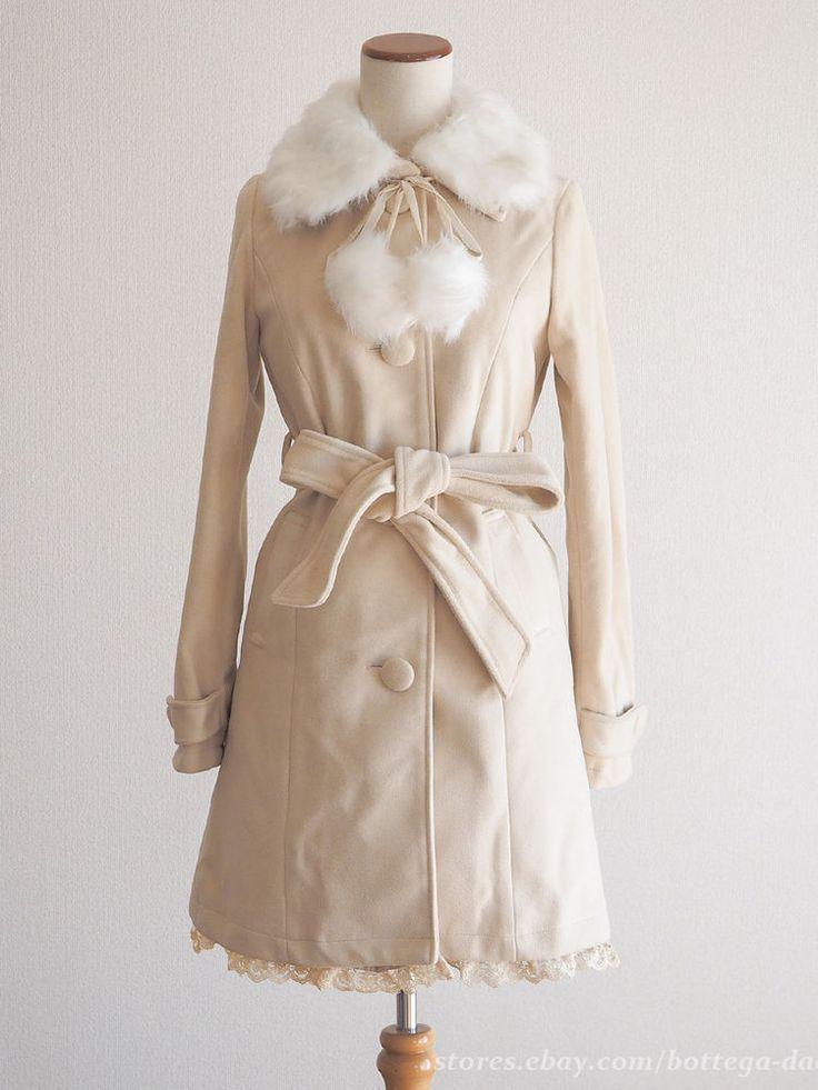 Best 20  Cream fur coat ideas on Pinterest | White faux fur coat ...