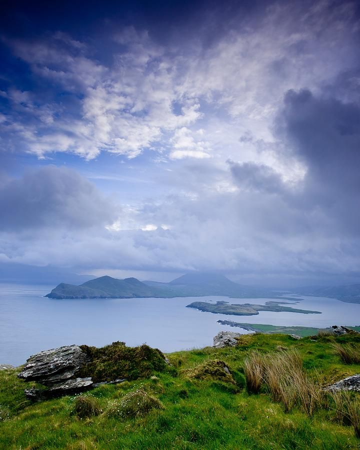 ✯ Early morning cold sunrise just after a very rainy night at the Valentia island in Ireland