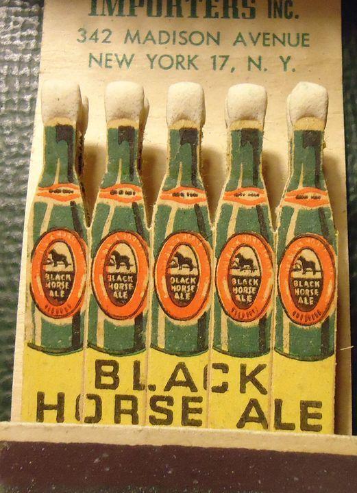 Matchbook Black Horse Ale Canada Beer