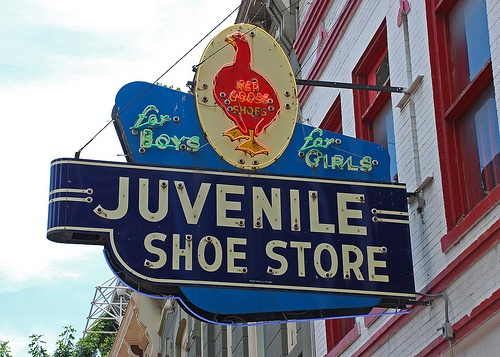 Aren't you glad you have the feet for Red Goose Shoes?