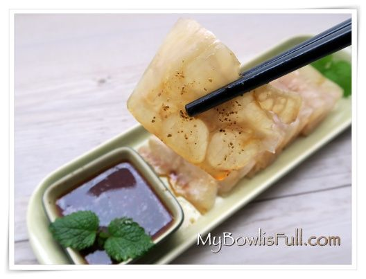 cold beef tendon in Sichuan style