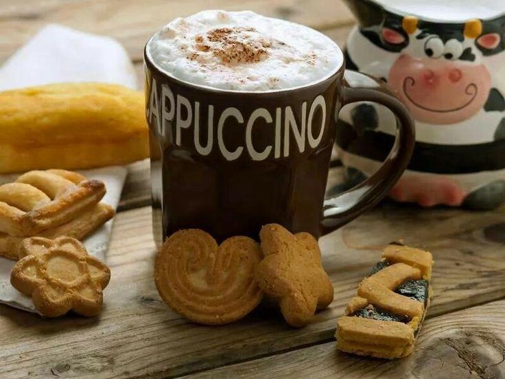 Cookues & cappuccino