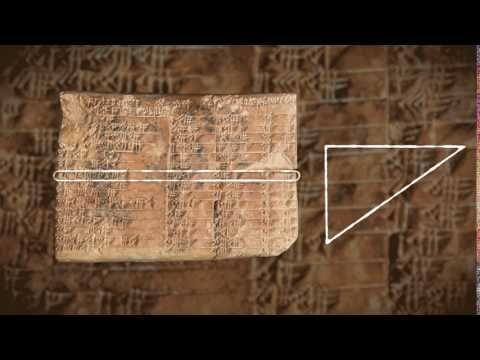 Written in stone: the world's first trigonometry revealed in an ancient Babylonian tablet