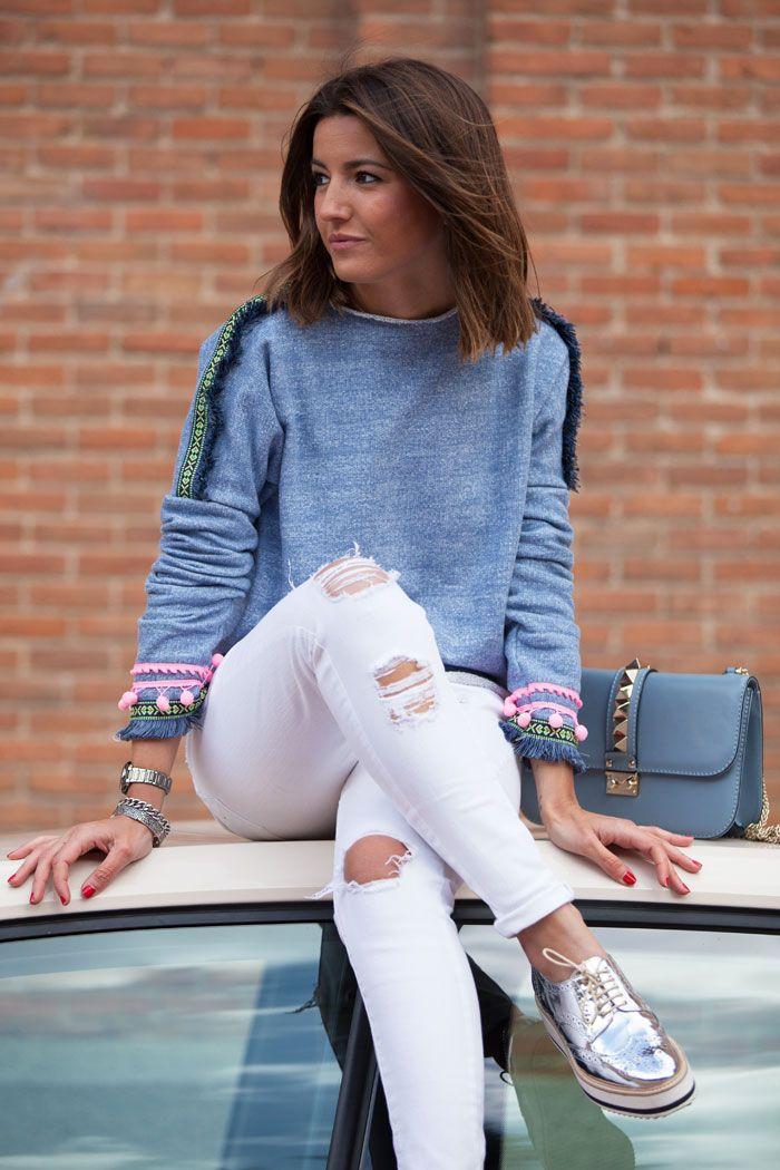 sweater: Mekdes (s/s 15) // pants: Suiteblanco // bag: Valentino // shoes: Zara (s/s 15) // watch: Sheen de Casio