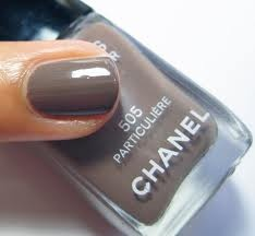 fingernail color..