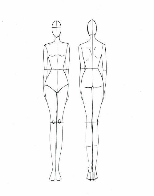 Fashion Drawing Block