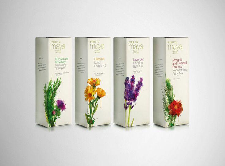 Maya Natural Skin Care // Designed by Derek Fenech Design Workshop