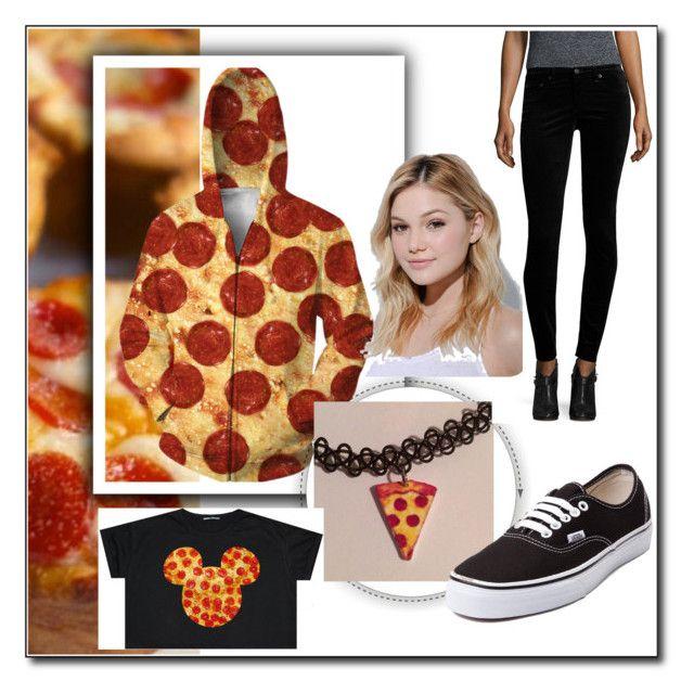 Pizza 1 by jana-khramova on Polyvore featuring картины