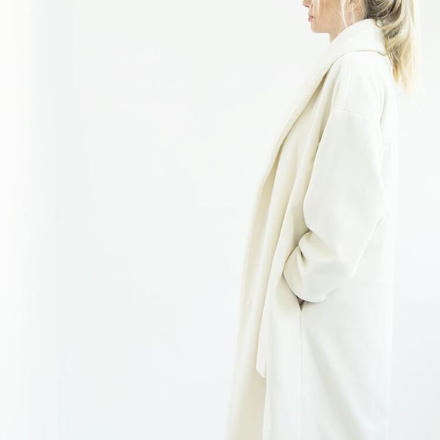 Fold Coat . Aurora Collection