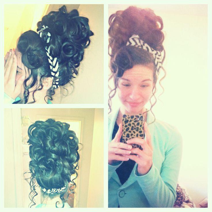 Big apostolic hair, it's beautiful!