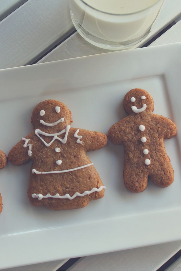 Gingerbread men and gingerbread reindeer. Gluten free, dairy free, nut free, soy free and egg free!