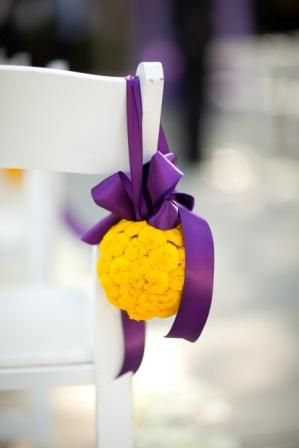 Help me pick colors: Purple and Emerald or Purple and Yellow? « Weddingbee Boards