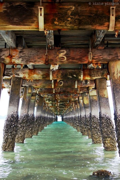 """""""the old maggie pier"""", by kinho pizzato - Townsville, QLD, Australia http://www.pathwaytoaus.com"""