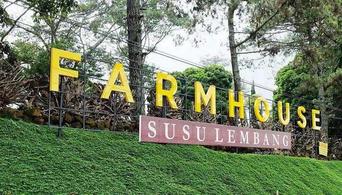Tempat Wisata Hits di Bandung farm house lembang