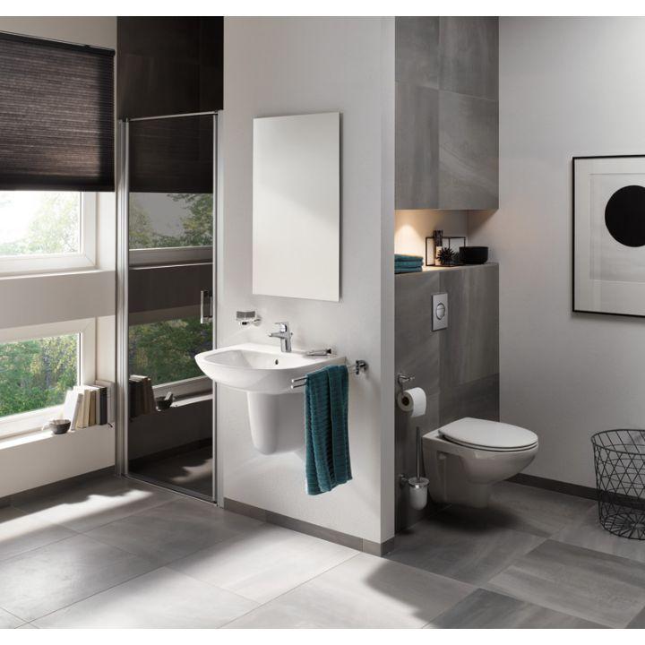 Vagghangd Toalett Grohe Rimless 5in1 Solido Wc Skal Bau Badrumsinterior Badrum Inspiration Kakel Badrum Design