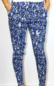 Living Doll bolt print slouch pant $59.95 | threads and style