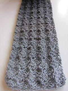 #Crochet scarf. Free Pattern