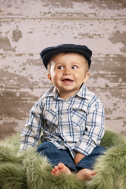 1 year old baby boy photo idea. Must get hat, in honor of great-granpa