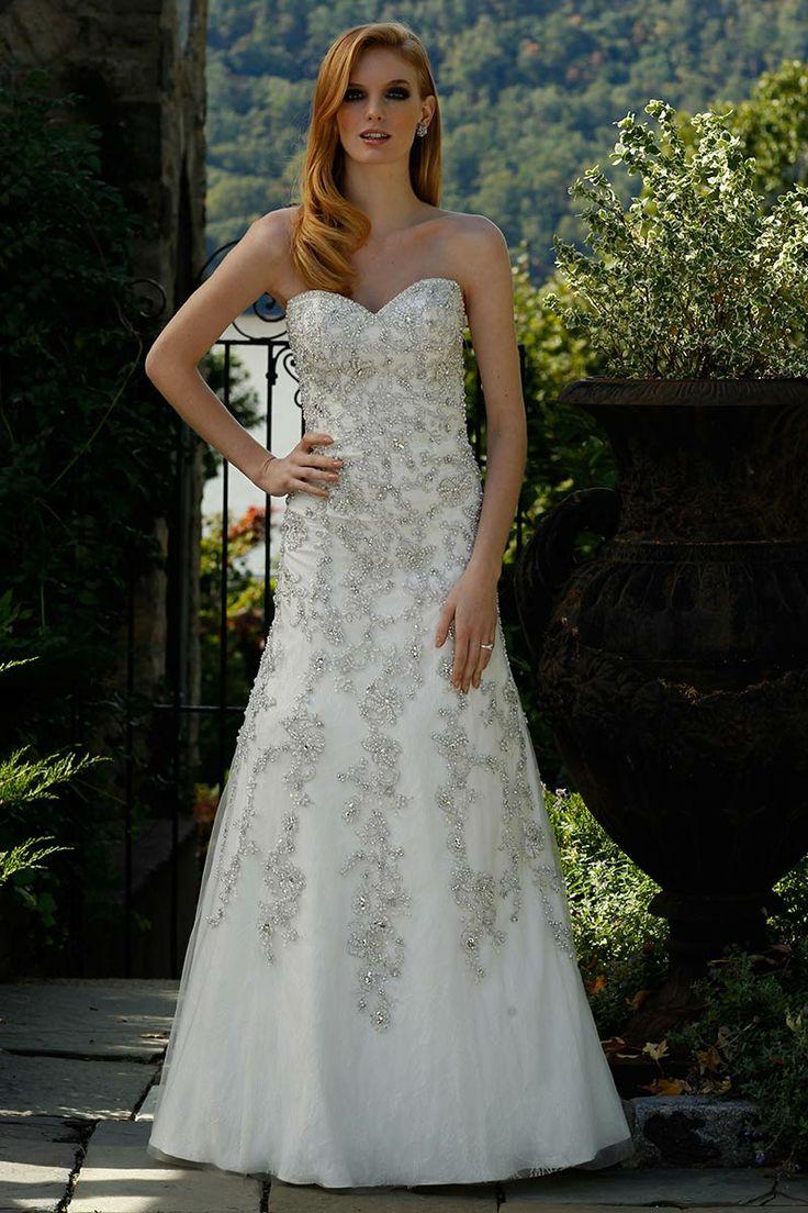 21 best *** Modified A-Line Wedding Dresses images by Elizabeth ...
