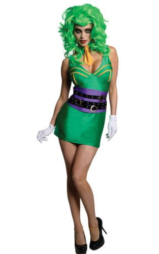#Licensed super villan sexy joker batman womens adult #dress up #halloween costum,  View more on the LINK: 	http://www.zeppy.io/product/gb/2/281995650775/