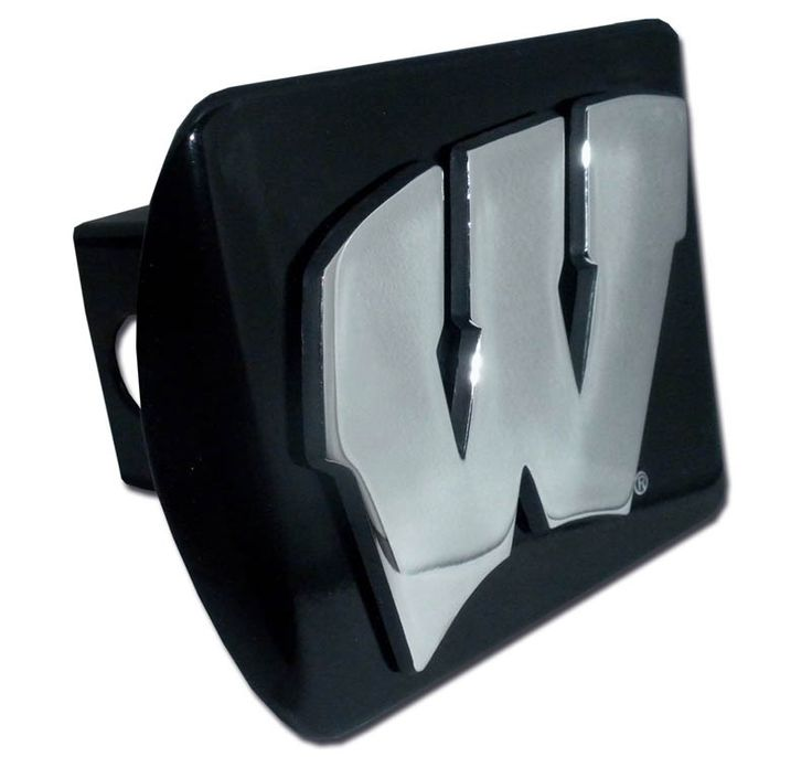 IAmEricas Flags - University of Wisconsin Black Hitch Cover, $39.95 (http://www.iamericasflags.com/university-of-wisconsin-black-hitch-cover/)