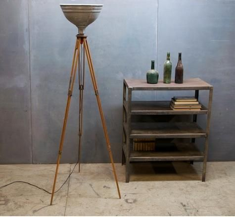 Design Sleuth Photographers Tripod Lamp