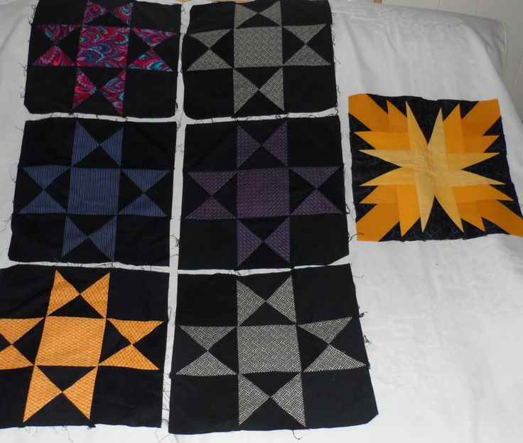 Orphan Star Blocks/Ohio Star Blocks/Double by BAGLADYFROMTHEBAY