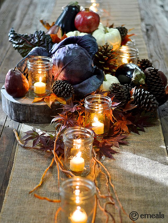 Best ideas about thanksgiving centerpieces on pinterest