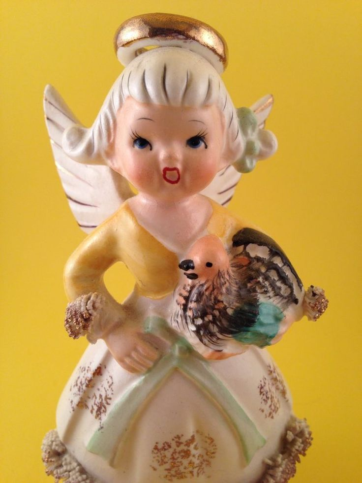 FUN! November Birthday Thanksgiving Cute Angel with Turkey Figurine Japan 2H2464 | Collectibles, Decorative Collectibles, Figurines | eBay!