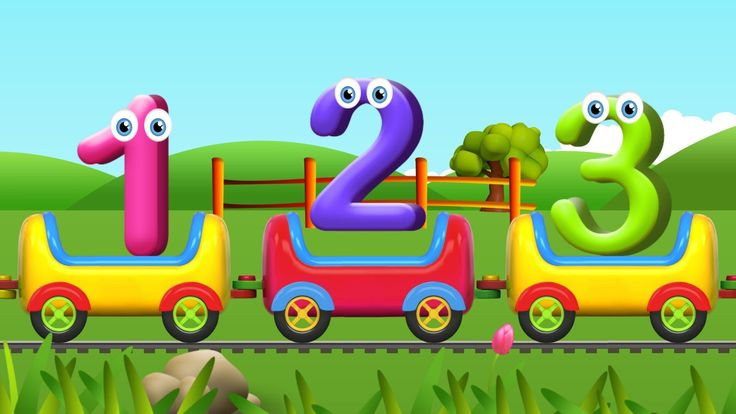 Numbers Song for Children | Learn to Count with Numbers Train